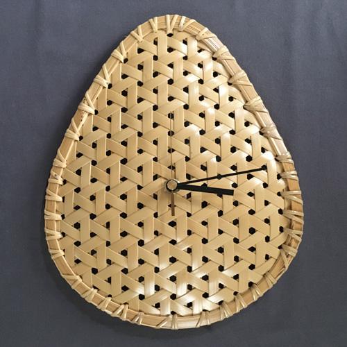 竹細工 時計
