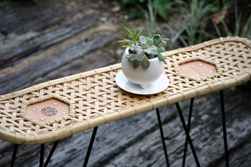 竹製の小物置き