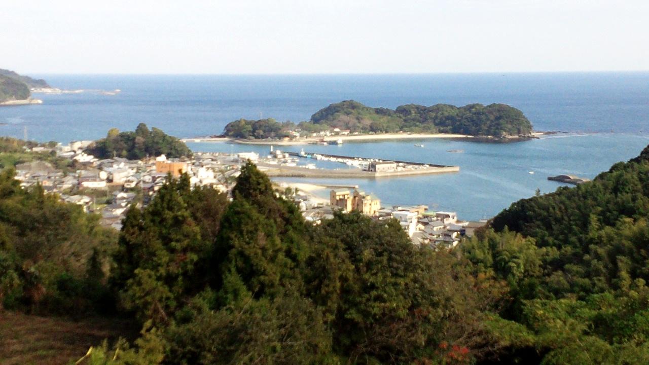 大分県臼杵市佐志生の風景