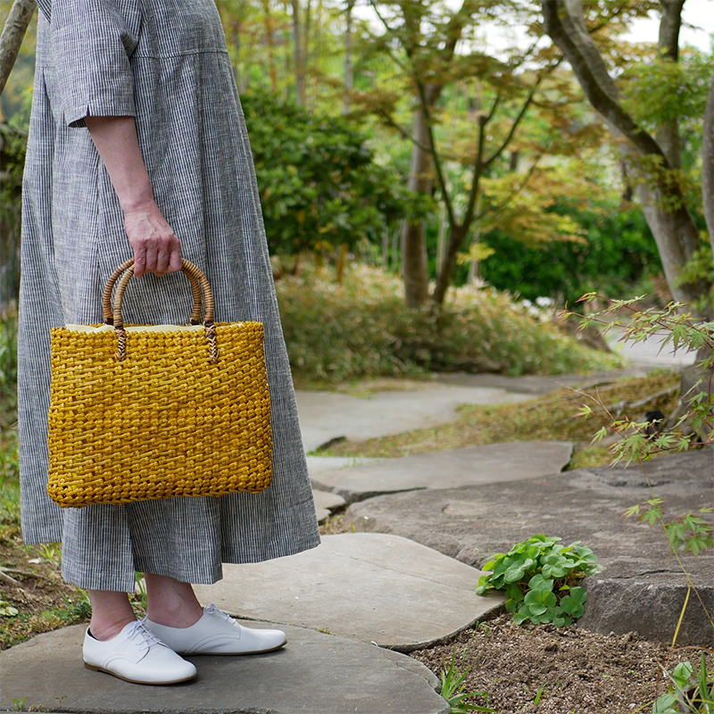 自然素材を使ったバッグ