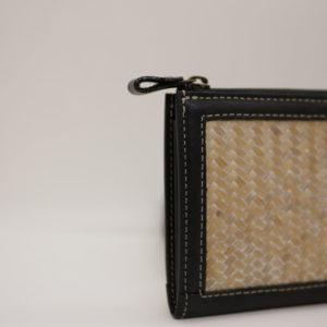 網代編み長財布