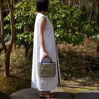 交色桜編み
