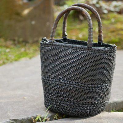 コイル編み×桜編み2WAYバッグ
