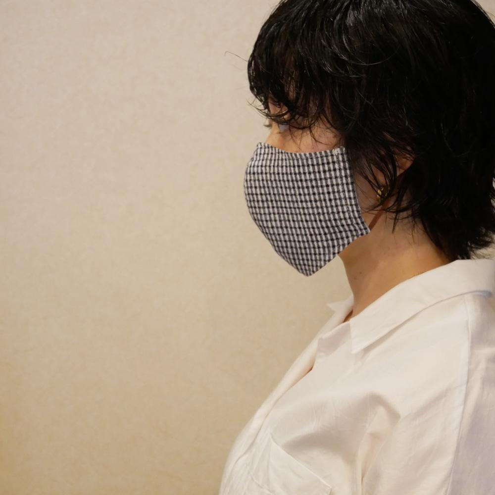 マスク ポケット 付き 手作り