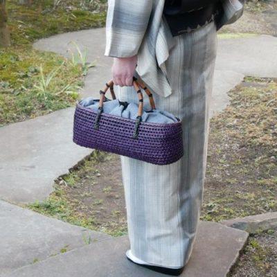 NEW もろこし編みバッグ