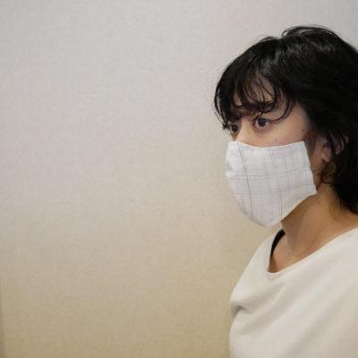 小千谷縮マスク