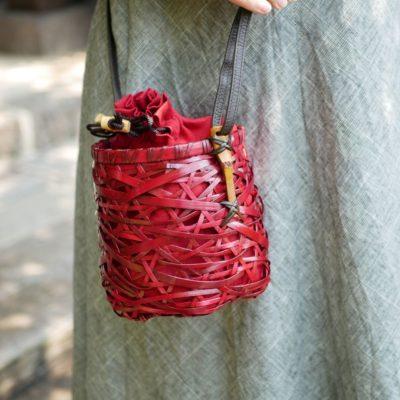 やたら編みショルダー
