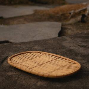 櫛目編み盛籠