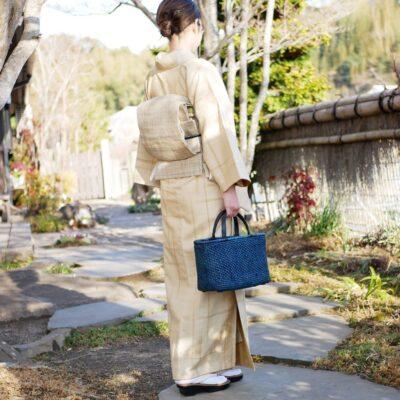 透かし桜編み