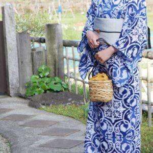 竹のポシェット