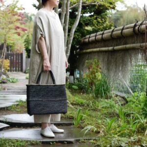 石畳編みトートバッグ