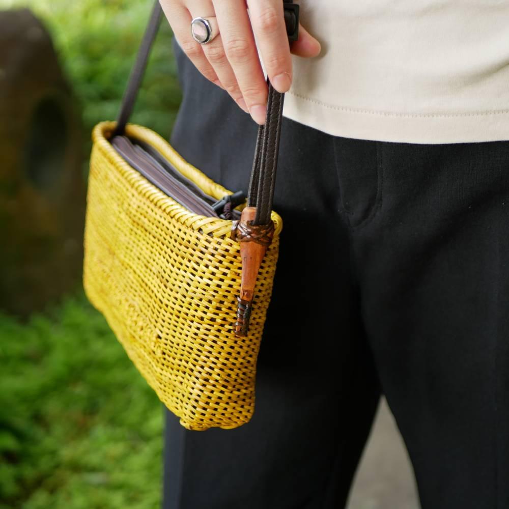 コイル×桜編みショルダー