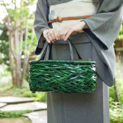 やたら編みバッグ