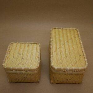 竹網代編みお弁当箱